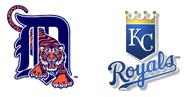 Comerica Park Detroit Tigers vs Kansas City Royals